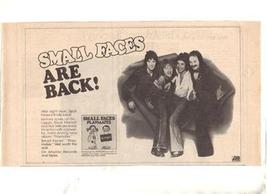 1977 SMALL FACES PLAYMATES POSTER TYPE AD - $8.99