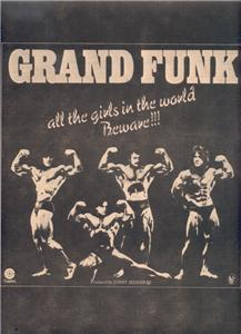 1975 GRAND FUNK ALL THE GIRLS POSTER TYPE AD