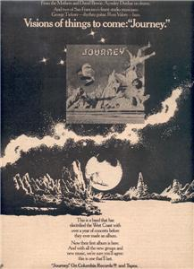 1975 JOURNEY VISIONS OF THINGS POSTER TYPE AD