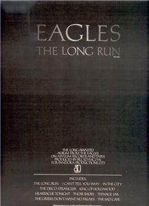 1979 THE EAGLES THE LONG RUN POSTER TYPE AD