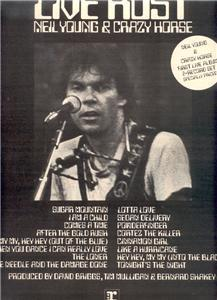 1979 NEIL YOUNG LIVE RUST POSTER TYPE AD