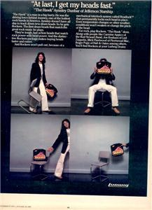 1979 AYNSLEY DUNBAR LUDWIG DRUMS ROCKERS POSTER TYPE AD