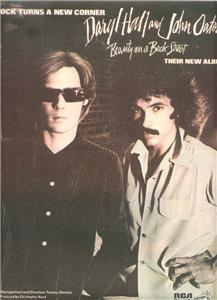 1977 DARYL HALL JOHN OATES BEAUTY POSTER TYPE AD