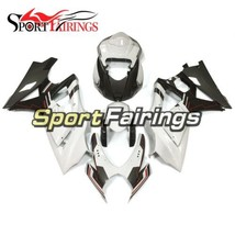 White Black Body Frames for Suzuki GSXR1000 2007 2008 Fairings K7 07 08 Panels - $441.31