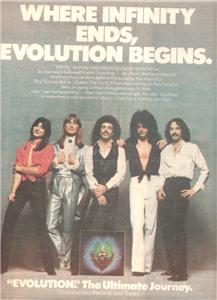 1979 JOURNEY EVOLUTION POSTER TYPE AD