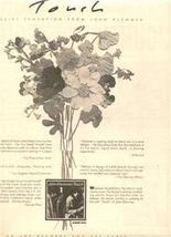 1976 JOHN KLEMMER TOUCH POSTER TYPE AD - $8.99