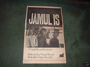1970 JAMUL IS POSTER TYPE AD