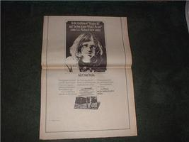 1973 LEE MICHAELS POSTER TYPE AD - $14.99