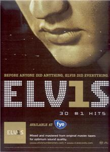 ELVIS 30 #1 HITS POSTER TYPE AD