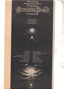 1977 GRATEFUL DEAD BEST OF PROMO AD