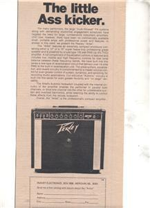 1975 PEAVEY AMP AMPLIFIER PROMO AD