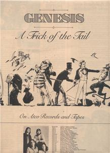 1976 GENESIS A TRICK OF THE TAIL TOUR PROMO AD