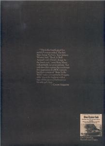 1975 BLUE OYSTER CULT ON YOUR FEET POSTER TYPE AD