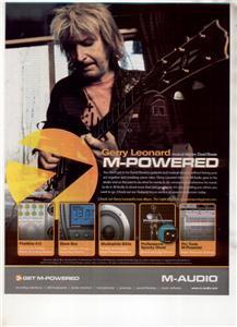 GERRY LEONARD M- POWERED AUDIO AD