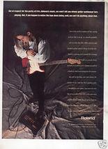 * 1993 ERIC JOHNSON ROLAND AD - $6.99