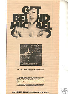 1975 MICHAEL QUATRO COLLABORATION PROMO AD