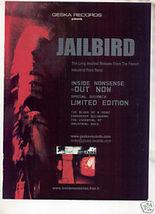 * JAILBIRD INSIDE NONSENSE PROMO AD - $7.99