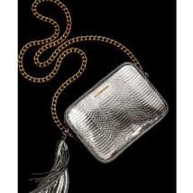 Brand New Victoria's Secret Fashion Show 2016 Silver Gold Crossbody Purse Bag - $34.65