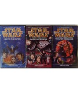 Star Wars The Thawn Trilogy Heir to the Empire Dark Force Rising by T Zahn - $7.95