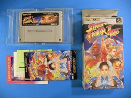 Street Fighter II 2 Turbo Complete in Box CIB (Nintendo Super Famicom, 1... - $18.91
