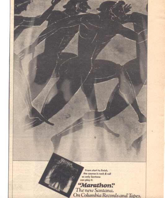 * 1979 SANTANA MARATHON PROMO AD