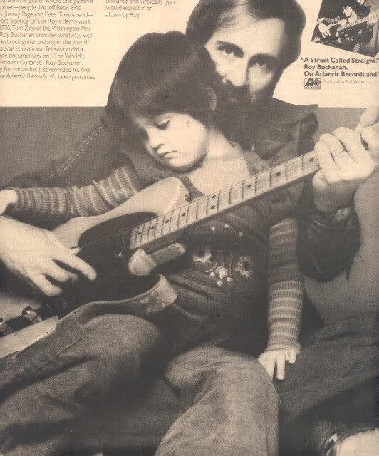 * 1976 ROY BUCHANAN POSTER TYPE AD