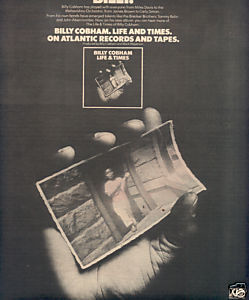 * 1976 BILLY COBHAM POSTER TYPE AD
