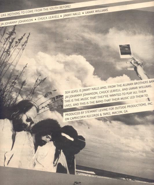 * 1977 SEA LEVEL POSTER TYPE AD