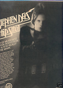 * 1977 STEPHEN DEES HIP SHOT POSTER TYPE AD