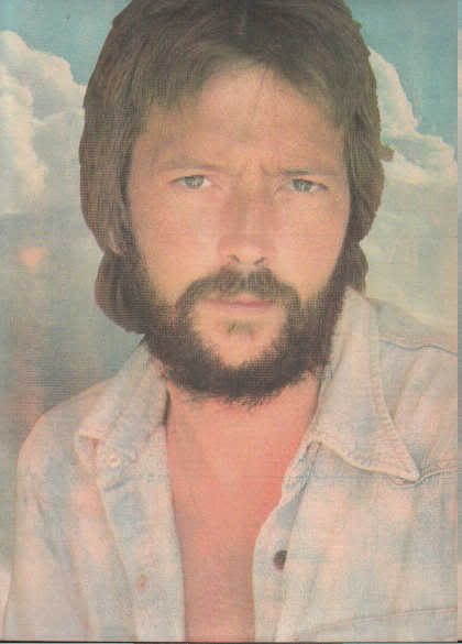 * 1974 ERIC CLAPTON POSTER PIN UP PHOTO PRINT AD