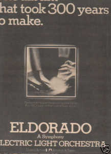 * 1974 ELO ELECTRIC LIGHT ORCHESTRA PROMO AD