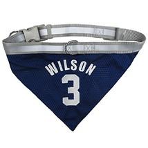 NFLPA Dog Bandana - Russell Wilson #3 Pet Bandana - NFL Seattle Seahawks... - $9.89