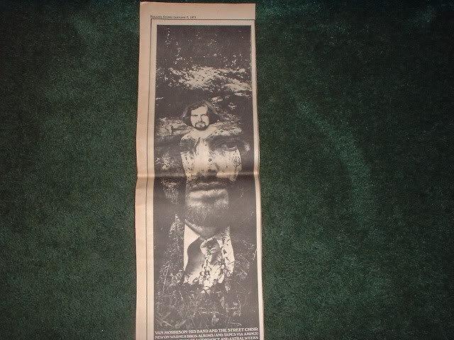 * 1971 VAN MORRISON PROMO AD