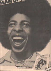 * 1974 SLY & THE FAMILY STONE POSTER TYPE PROMO AD