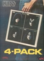 KISS 4-PACK PROMO AD 1978