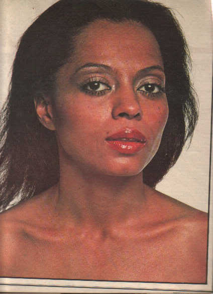* 1977 DIANA ROSS ARTICLE AD WRITE UP 6-PAGE