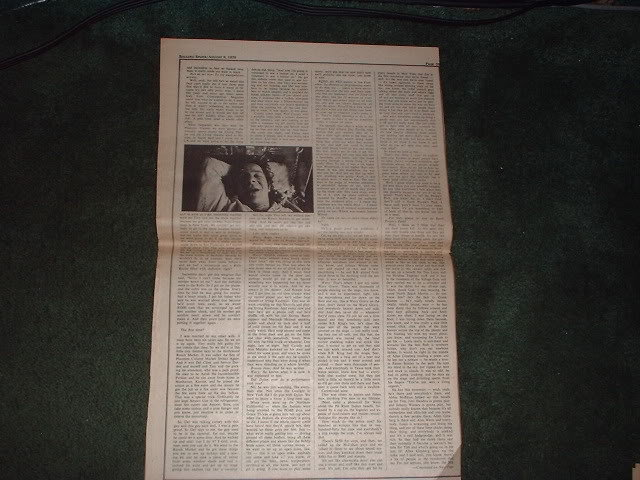 * 1970 WAVY GRAVY ARTICLE AD WRITE UP