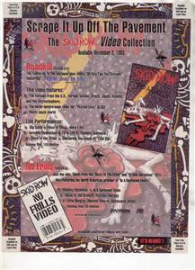 1994 SKID ROW NO FRILLS AD