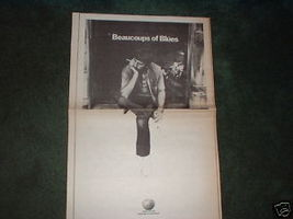 * 1970 BEAUCOUPS OF BLUES POSTER TYPE AD - $16.99