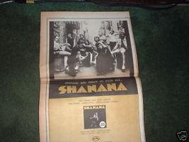 * 1971 SHANANA SHA NA NA POSTER TYPE PROMO AD - $29.99