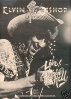 ELVIN BISHOP LIVE RAISIN HELL AD 1977