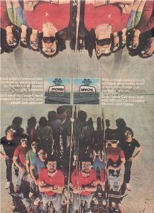 1979 BLUE OYSTER CULT MIRRORS POSTER TYPE AD