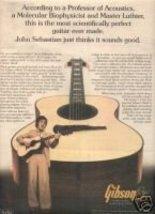 GIBSON JOHN SEBASTIAN PROMO AD 1977 - $8.99