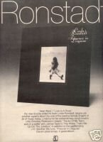 LINDA RONSTADT PRISONER IN DISGUISE PROMO AD 1975