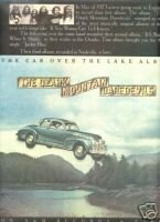 THE OZARK MOUNTAIN DAREDEVILS THE CAR OVER THE LAKE AD