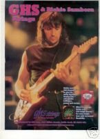 RICHIE SAMBORA GHS STRINGS PROMO AD 1995