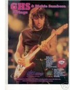 RICHIE SAMBORA GHS STRINGS PROMO AD 1995 - $6.99