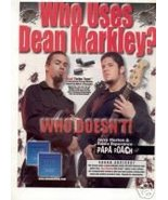 PAPA ROACH BLUE STEEL GUITAR STRINGS PROMO AD 2001 - $113.64