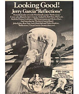 JERRY GARCIA REFLECTIONS POSTER TYPE PROMO AD 1976 - $9.99