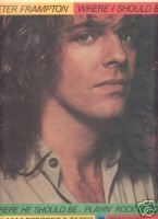 PETER FRAMPTON WHERE I SHOULD BE PROMO AD 1979